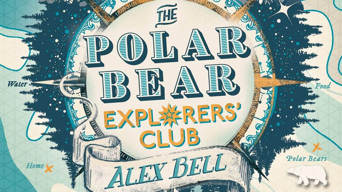 An image from the cover of The Polar Bear Explorer's Club by Alex Bell