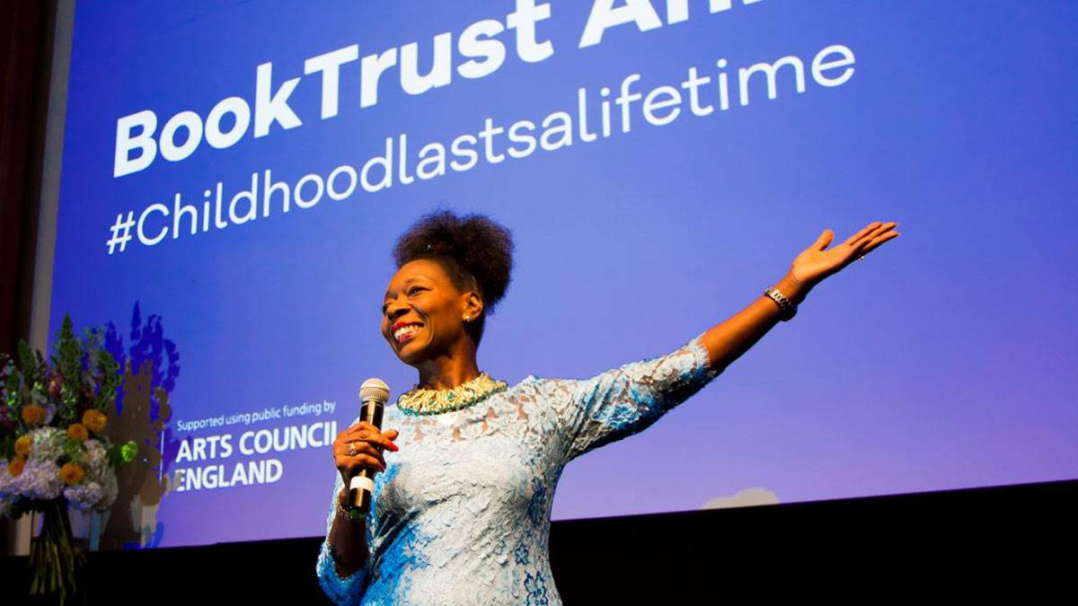 Floella Benjamin gives the BookTrust Annual Lecture