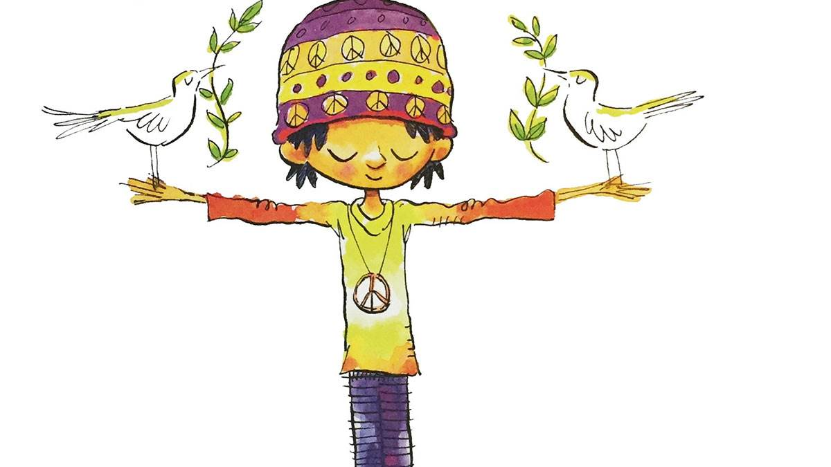 The cover of I Am Peace by Susan Verde and Peter H Reynolds