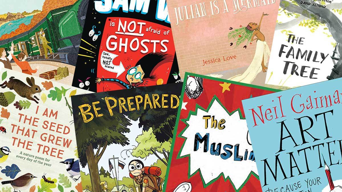 Some of the best books of the year as chosen by top authors and illustrators
