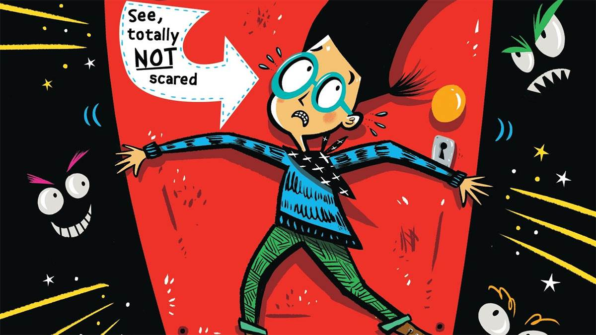 Sam Wu Is Not Afraid of Ghosts by Katie and Kevin Tsang, illustrated by Nathan Reed