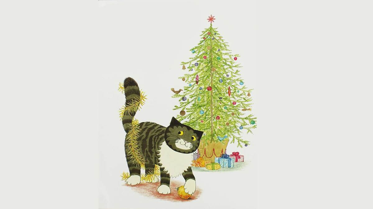 The cover of Mog's Christmas