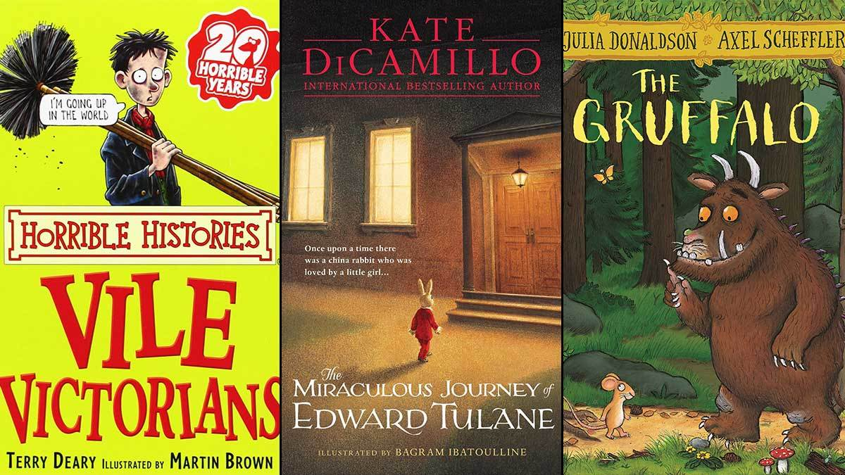 Horrible Histories, The Miraculous Journey of Edward Tulane, Goosebumps