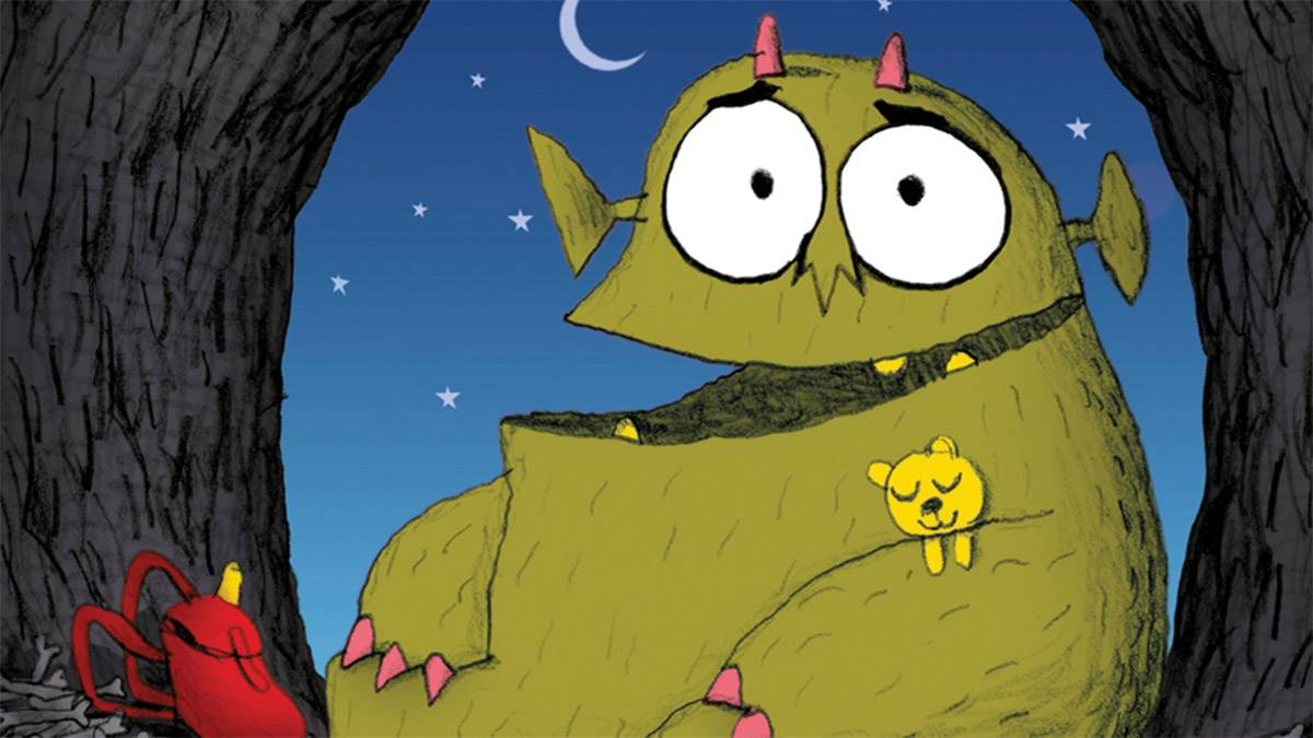 The cover of Bedtime for Monsters