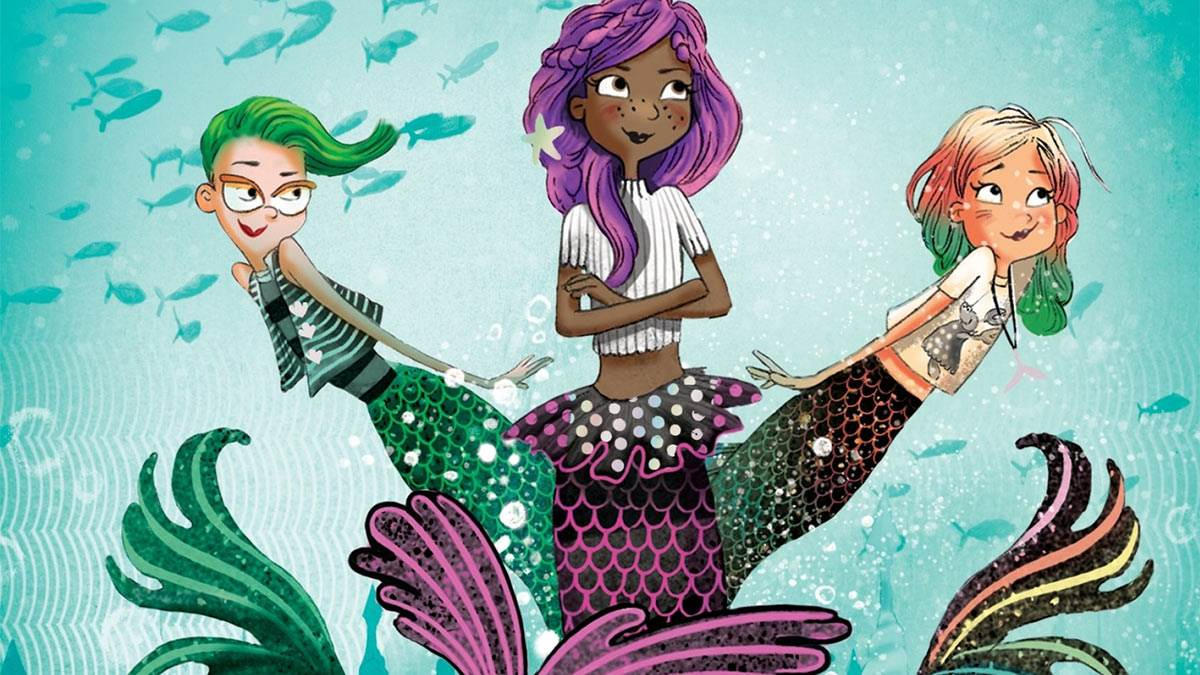 The cover of Bad Mermaids
