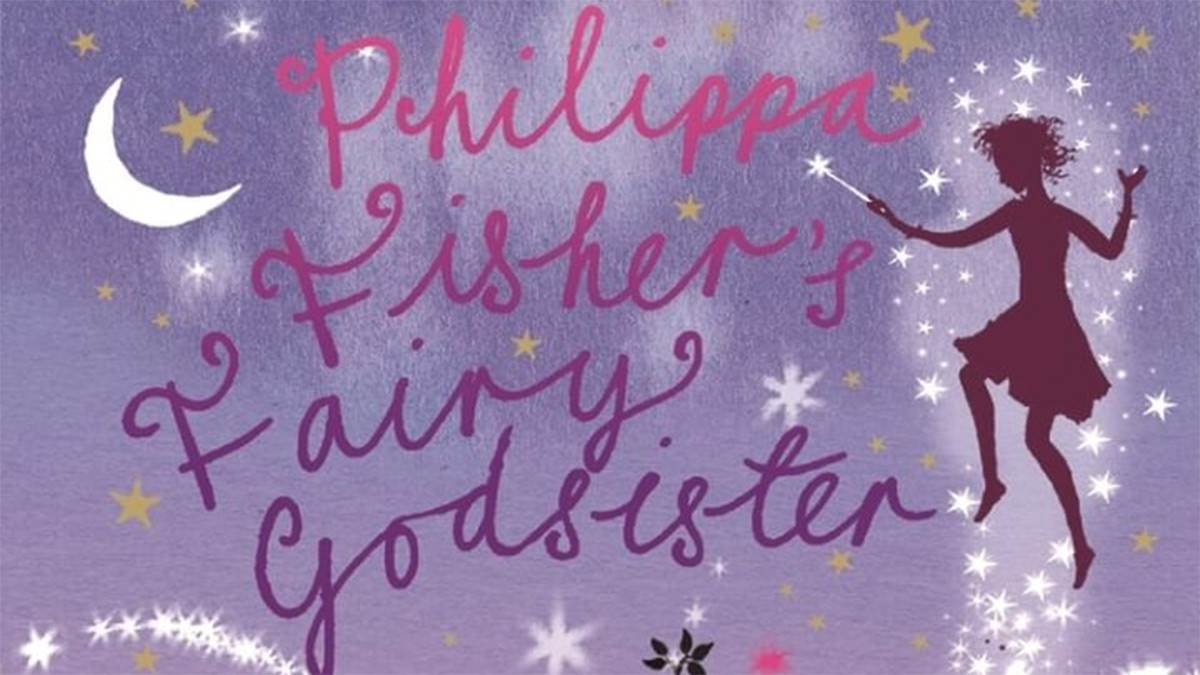 The front cover of Philippa Fisher's Fairy Godsister