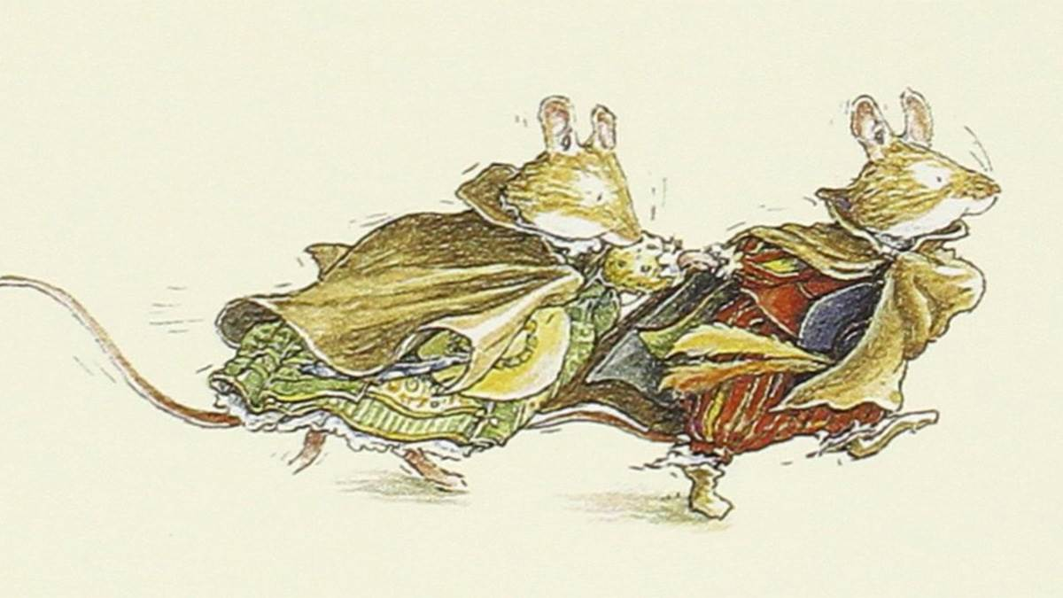 The front cover of The Adventures of Brambly Hedge