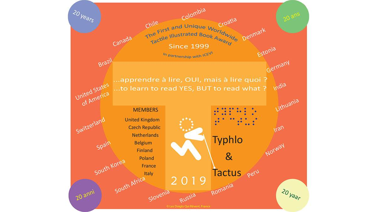 The logo for the Typhlo & Tactus Awards