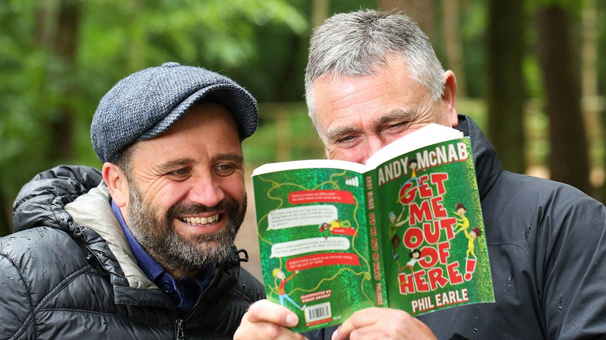 Phil Earle and Andy McNab