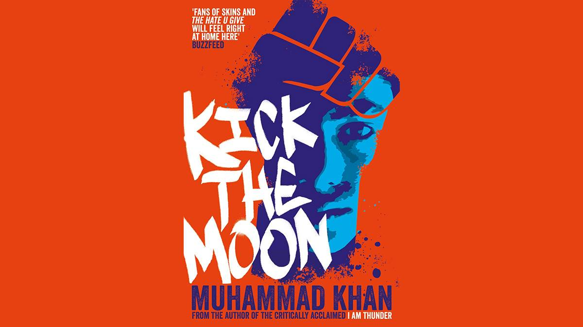 The front cover of Kick the Moon