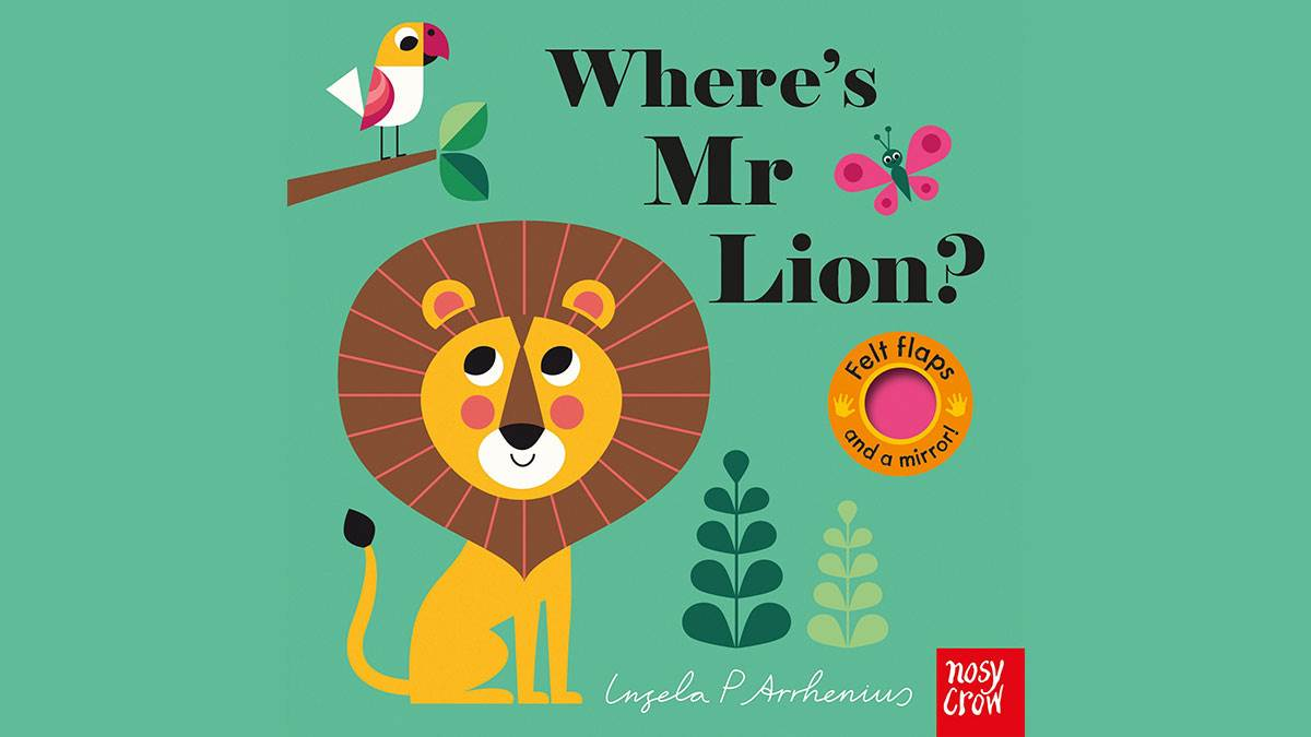The front cover of Where's Mr Lion