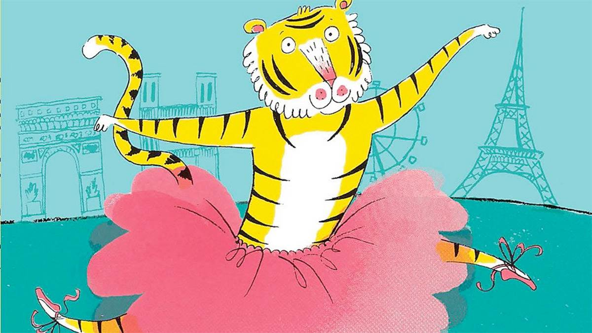 The front cover of Tiger in a Tutu