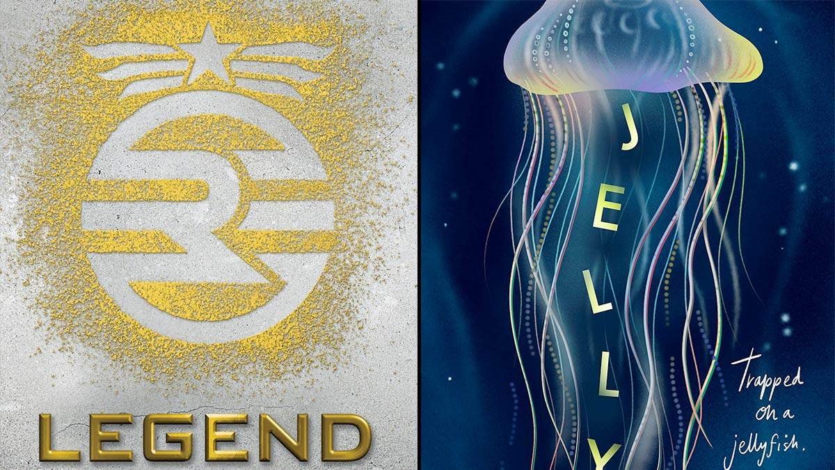 The front covers of Legend and Jelly