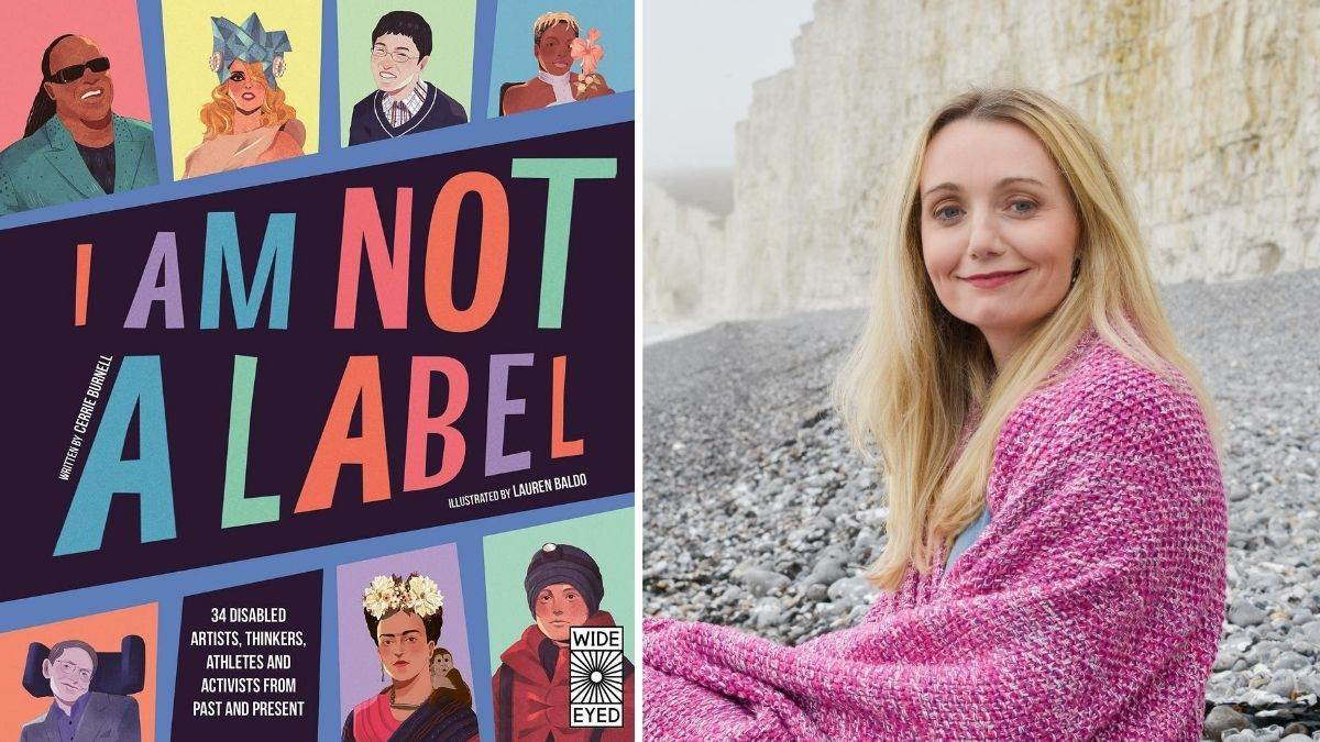 I Am Not A Label by author Cerrie Burnell (pictured)