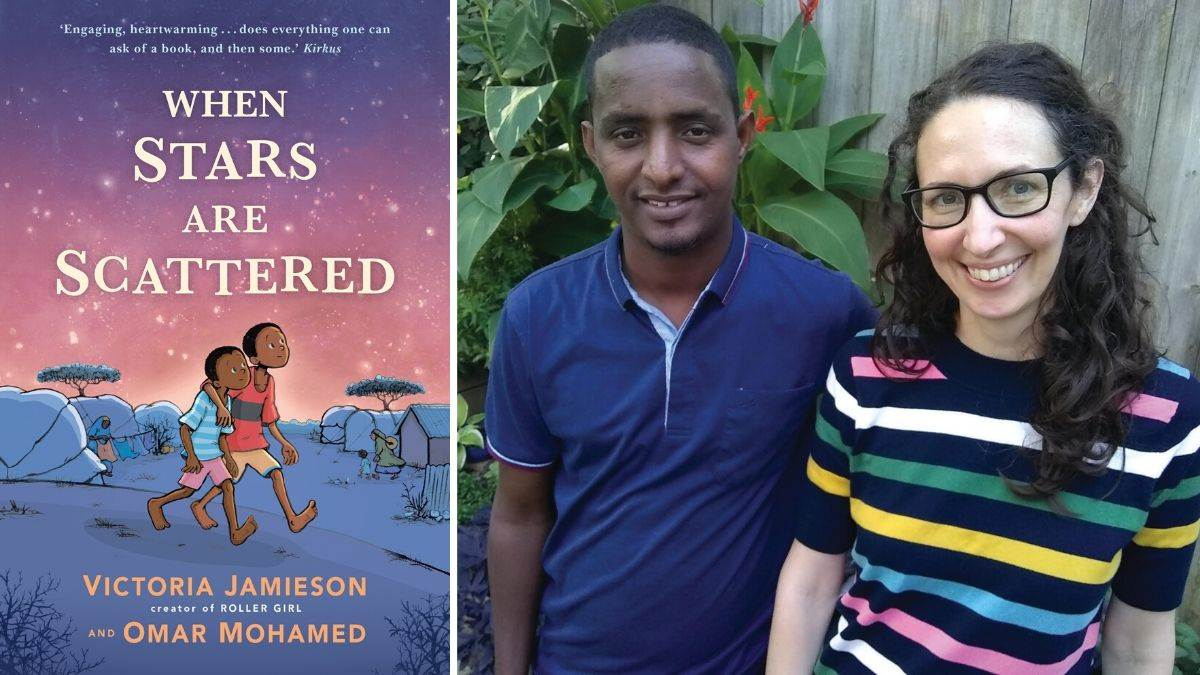 "No-one chooses to be a refugee"": Victoria Jamieson and Omar Mohamed on When  Stars are Scattered 
