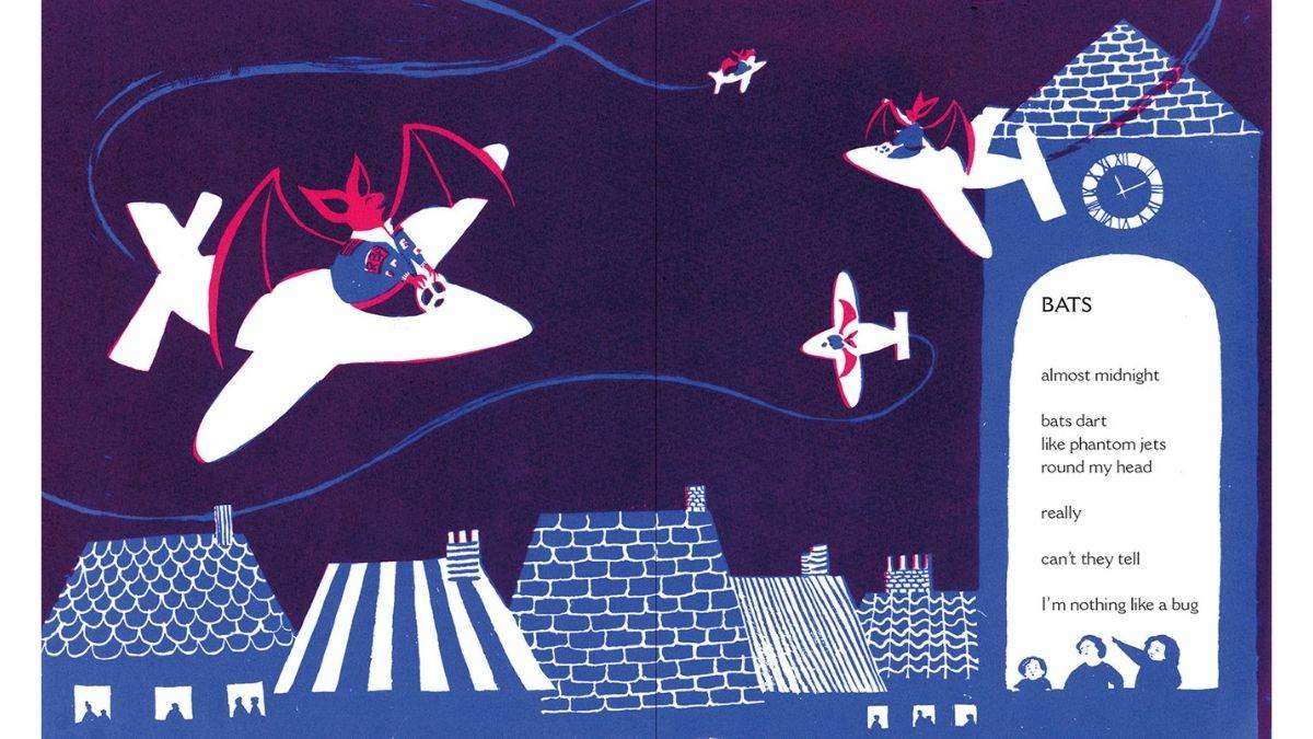 A spread from Cherry Moon by Zaro Weil. Illustration by Junli Song
