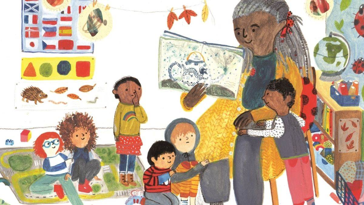 Illustration from The Boy Who Loved Everyone by Jane Porter and Maisie Paradise Shearring