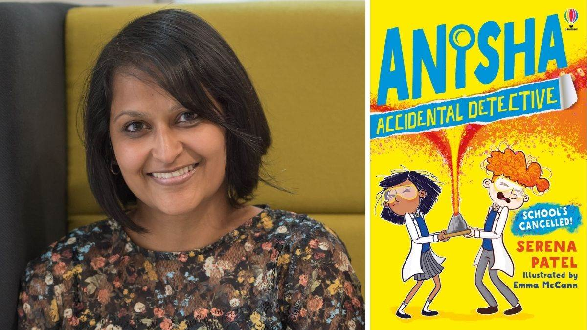 Serena Patel and her book Anisha: Accidental Detective