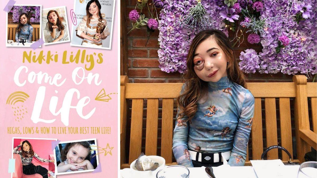 Nikki Lilly and her book, Come On Life: Highs, Lows and How to Live Your Best Teen Life