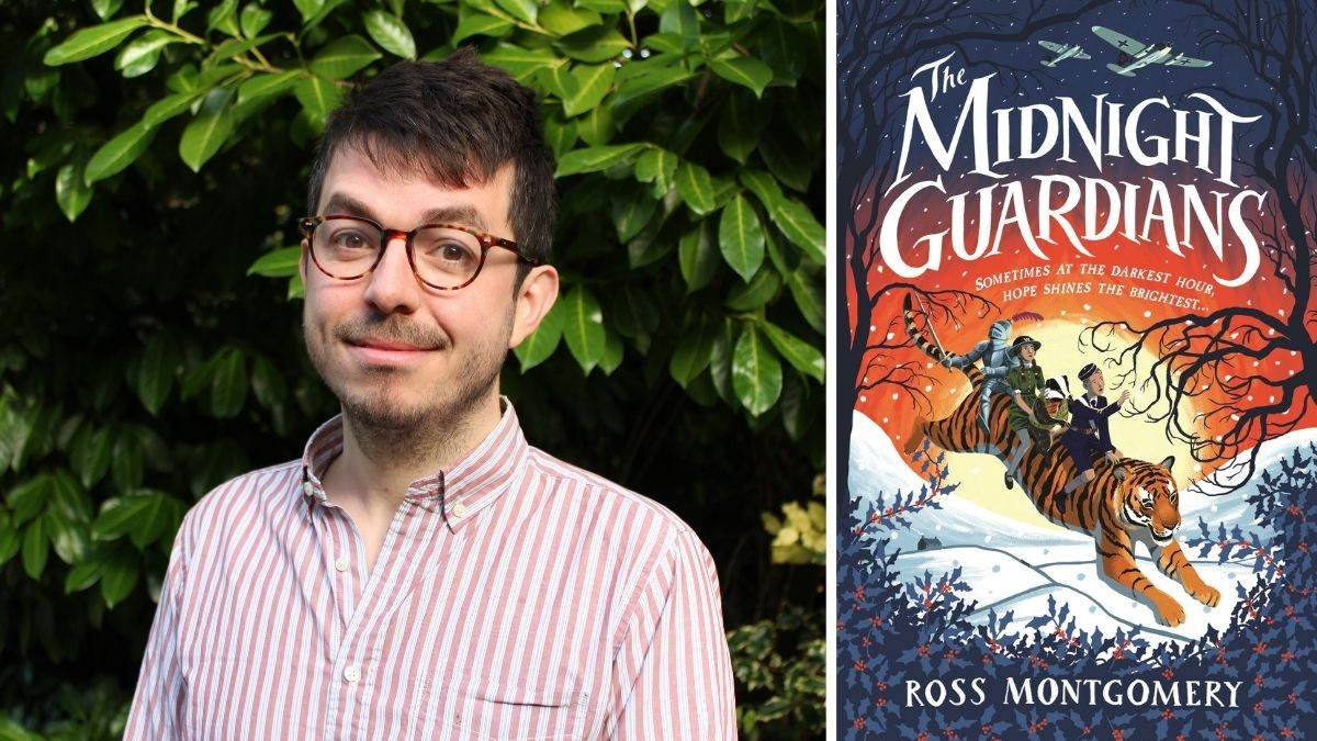 Author Ross Montgomery and The Midnight Guardians
