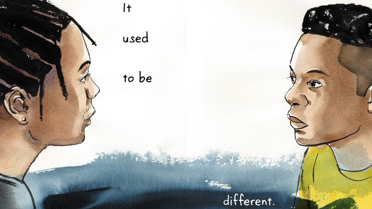 The 'it used to be different' spread from Long Way Down
