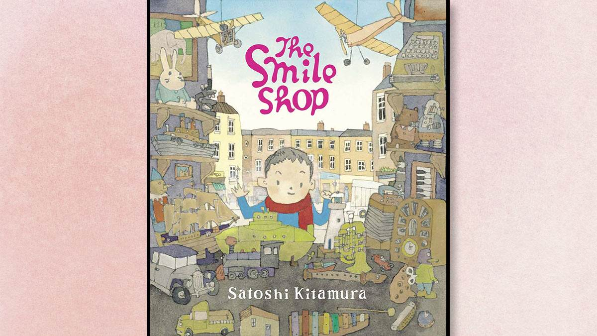 The front cover of The Smile Shop