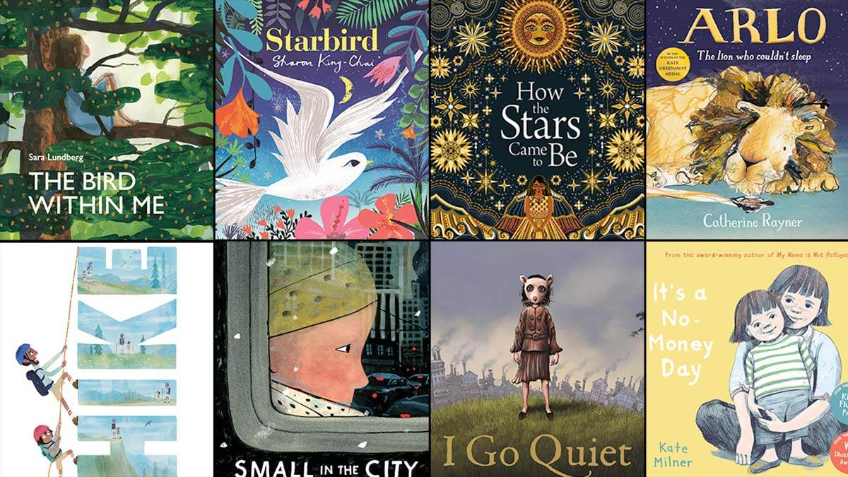 The books on the 2021 Kate Greenaway Medal shortlist