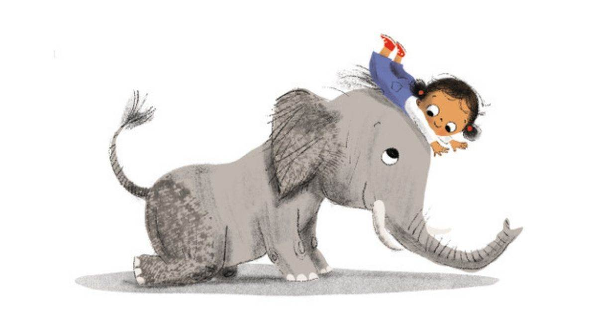 Illustration from Not That Pet! by Smriti Halls and Rosalind Beardshaw