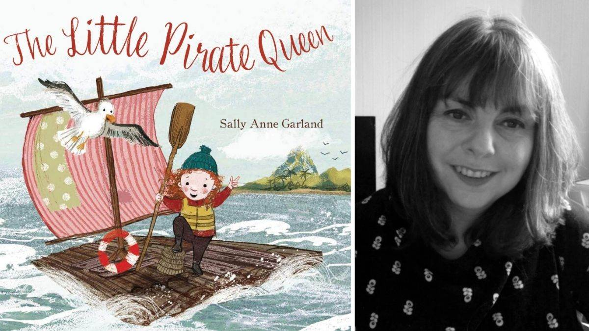 Author Sally Garland and The Little Pirate Queen