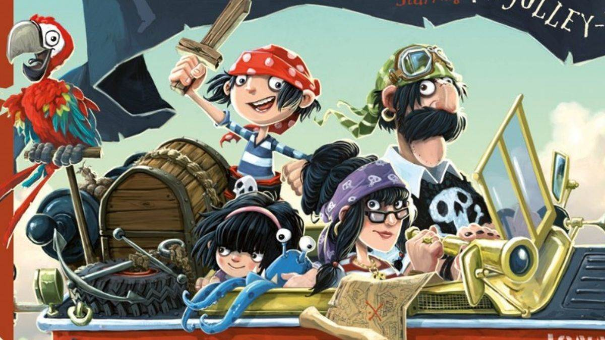 Illustration from The Pirates Next Door