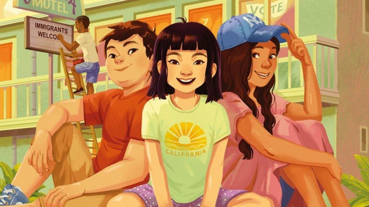 The cover of Three Keys by Kelly Yang