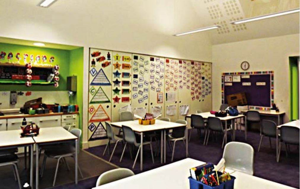many thanks to the Professor Peter Barrett from the Holistic Evidence and Design (HEAD) project and  Clever Classrooms Design for allowing us to use these images, find out more www.cleverclassroomsdesign.co.uk