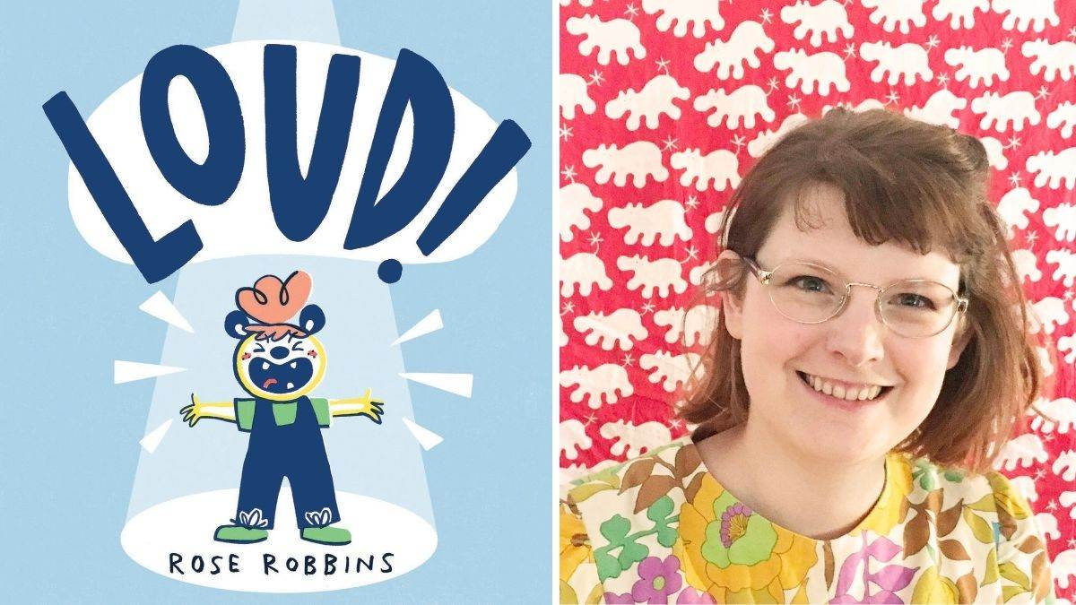 Rose Robbins and the cover of LOUD!
