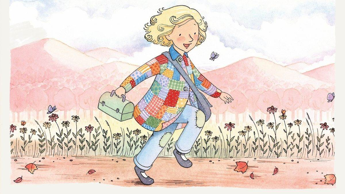 Illustration from Coat of Many Colors by Dolly Parton