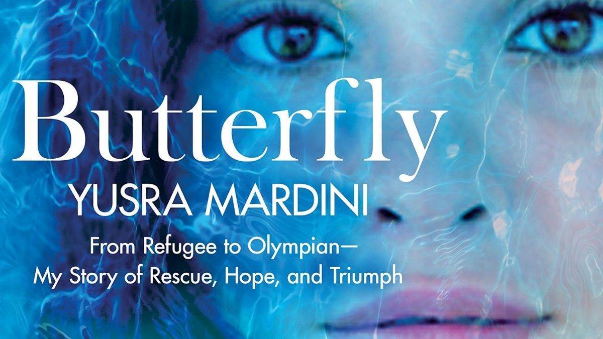 The cover of Butterfly by Yusra Mardini