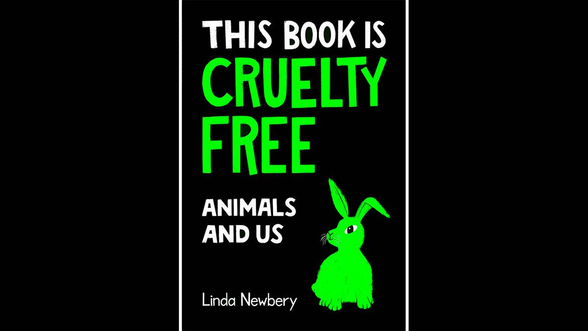 The front cover of This Book is Cruelty Free