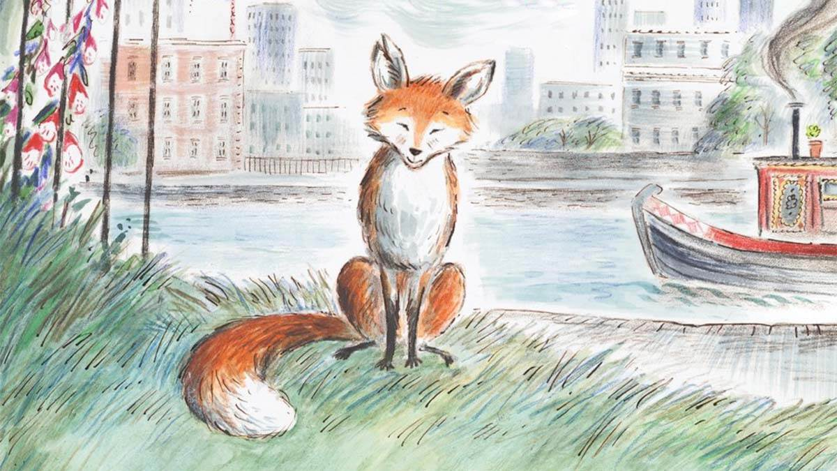 The front cover of Gaspard the Fox