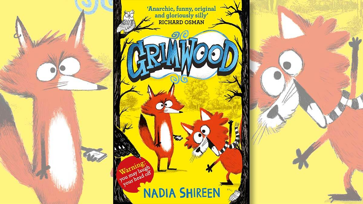 The front cover of Grimwood