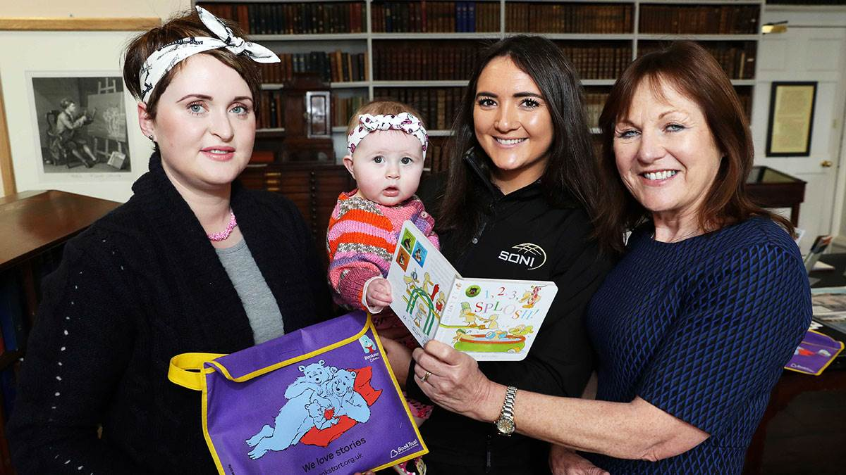 BookTrust NI and SONI event in Armagh