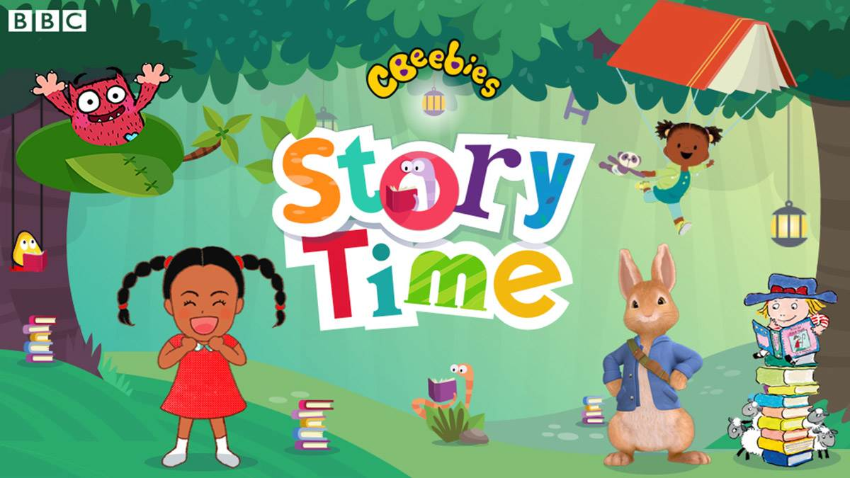 The all-new CBeebies Storytime app