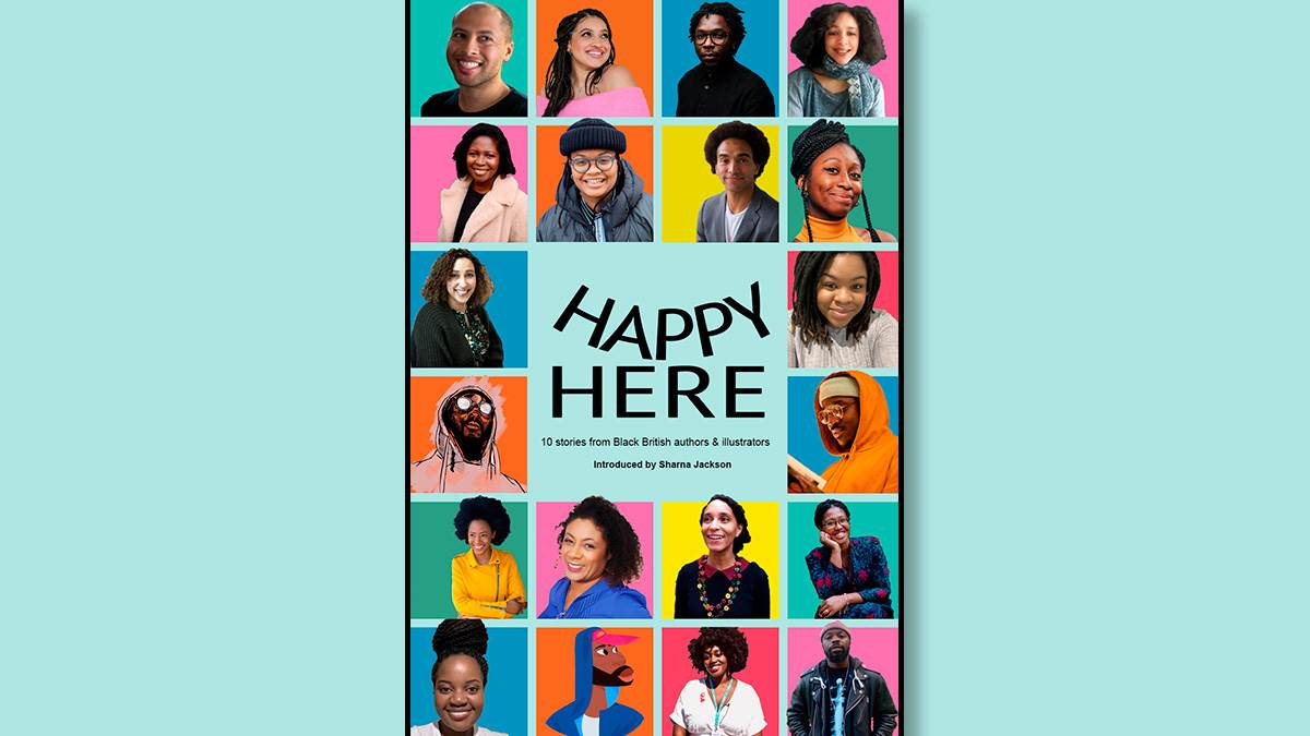The front cover of Happy Here