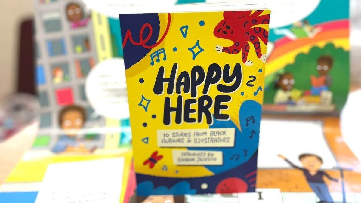 The cover of Happy Here, photographed by Deborah Texeira
