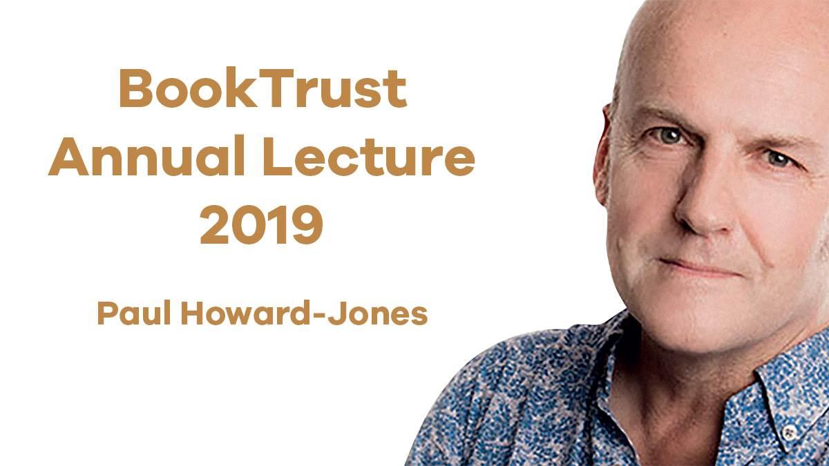 BookTrust Annual Lecture 2019: Paul Howard-Jones