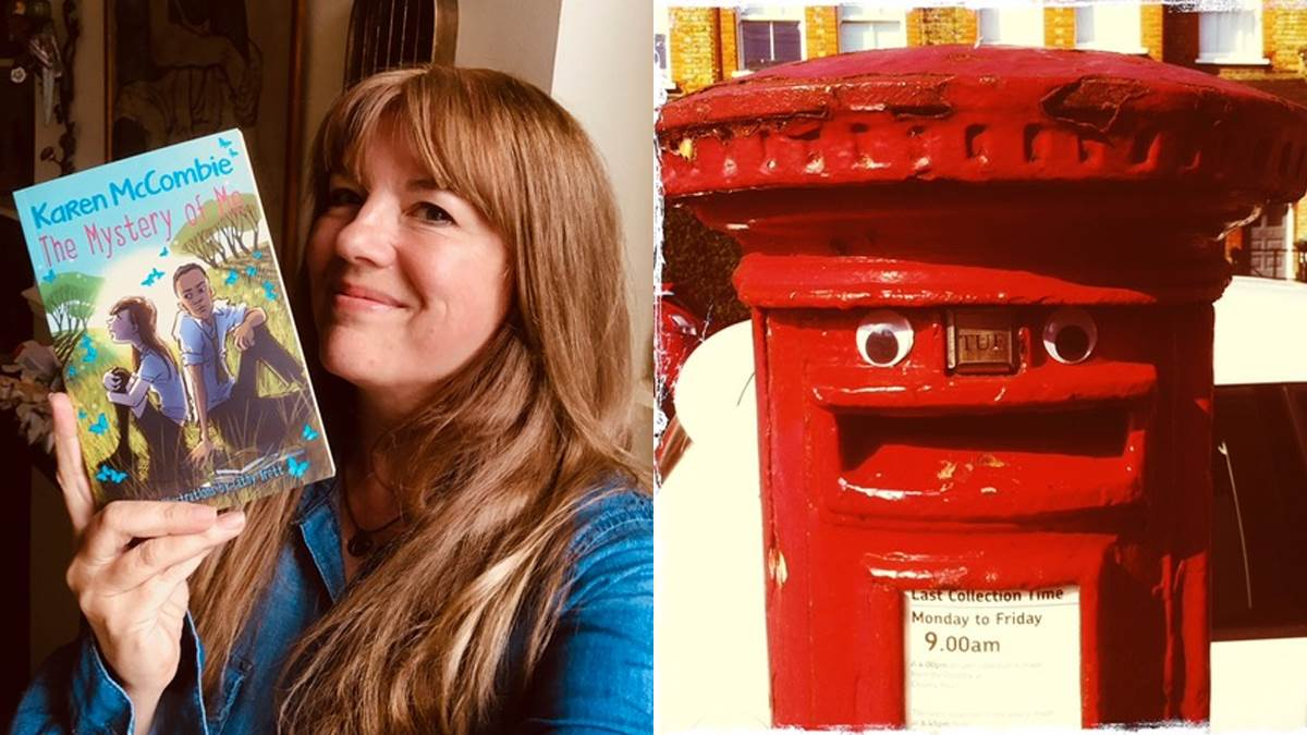 Karen, her book and the postbox