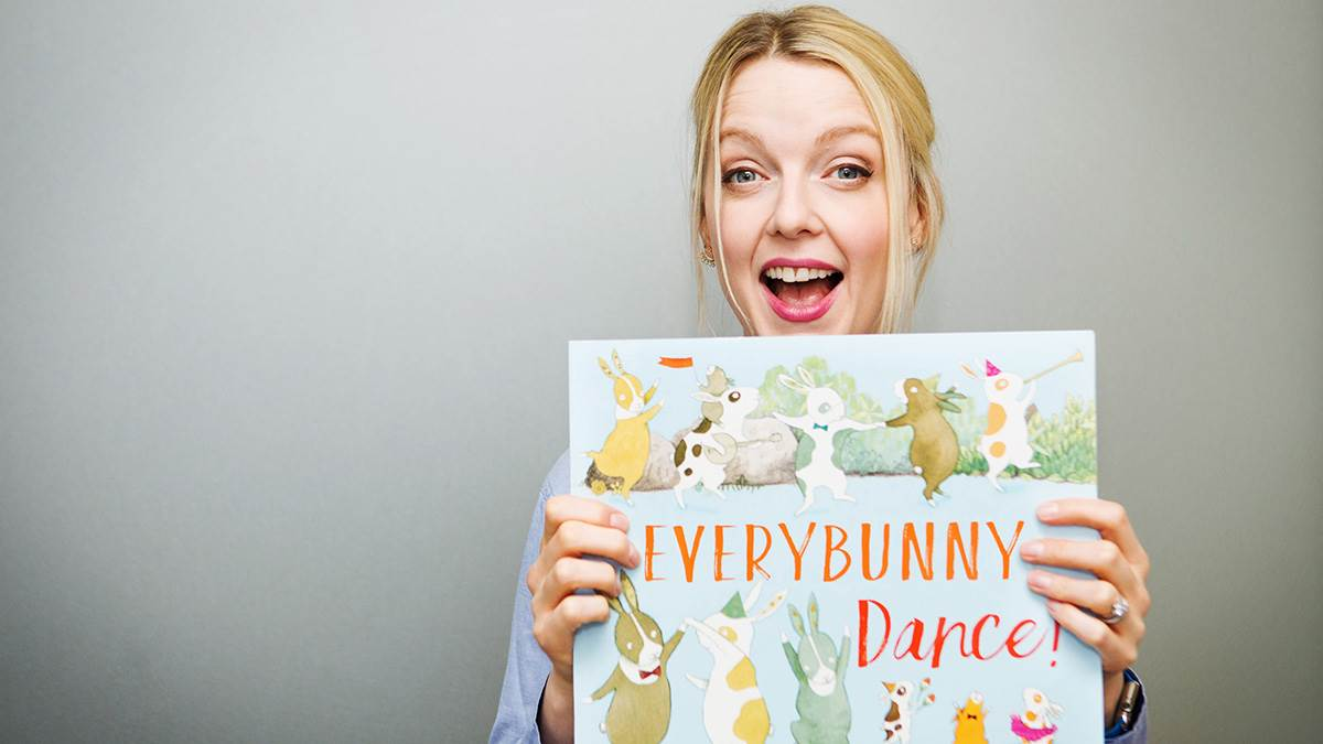 Lauren Laverne reads Everybunny Dance