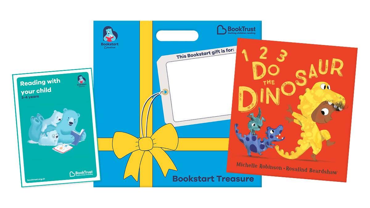 Bookstart Treasure pack 2021 123 Do the Dinosaur