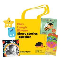 Wales Bookstart Baby Bag English