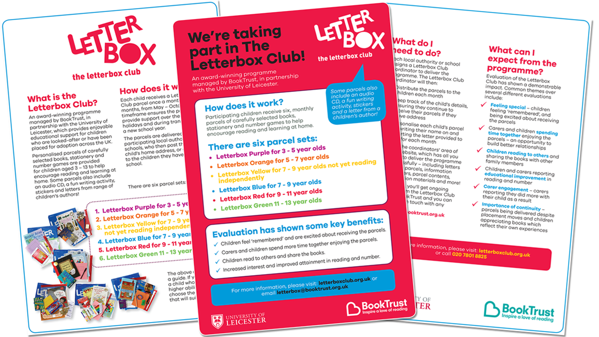Letterbox Club resources for download