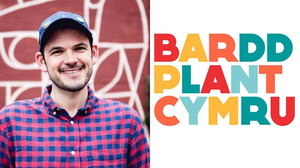 Bardd Plant Cymru Gruffudd Owen with logo