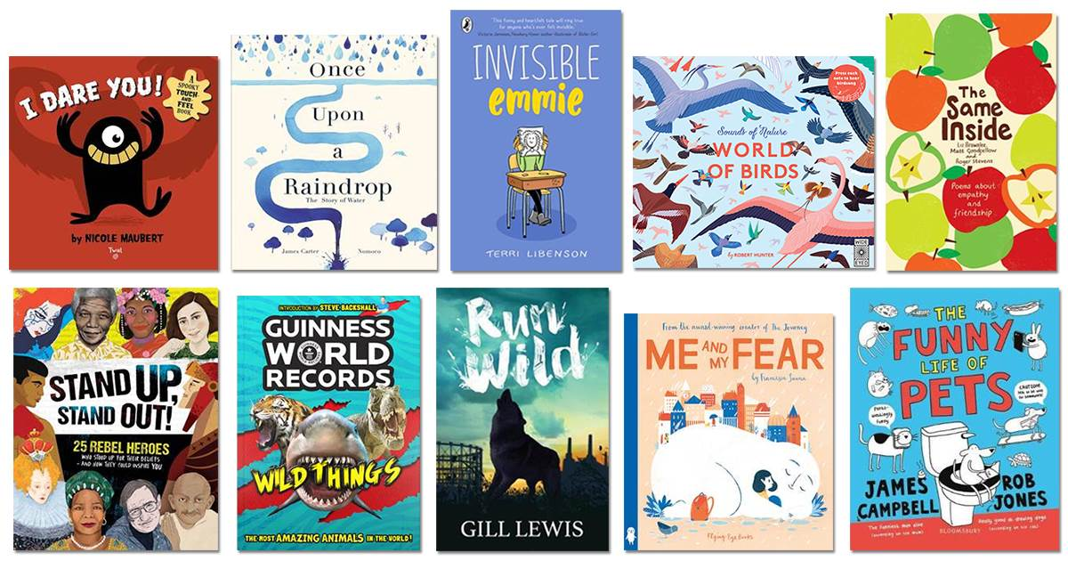 This year's Special School Library Pack books
